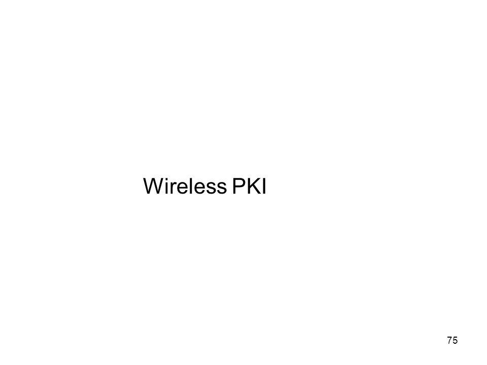 75 Wireless PKI