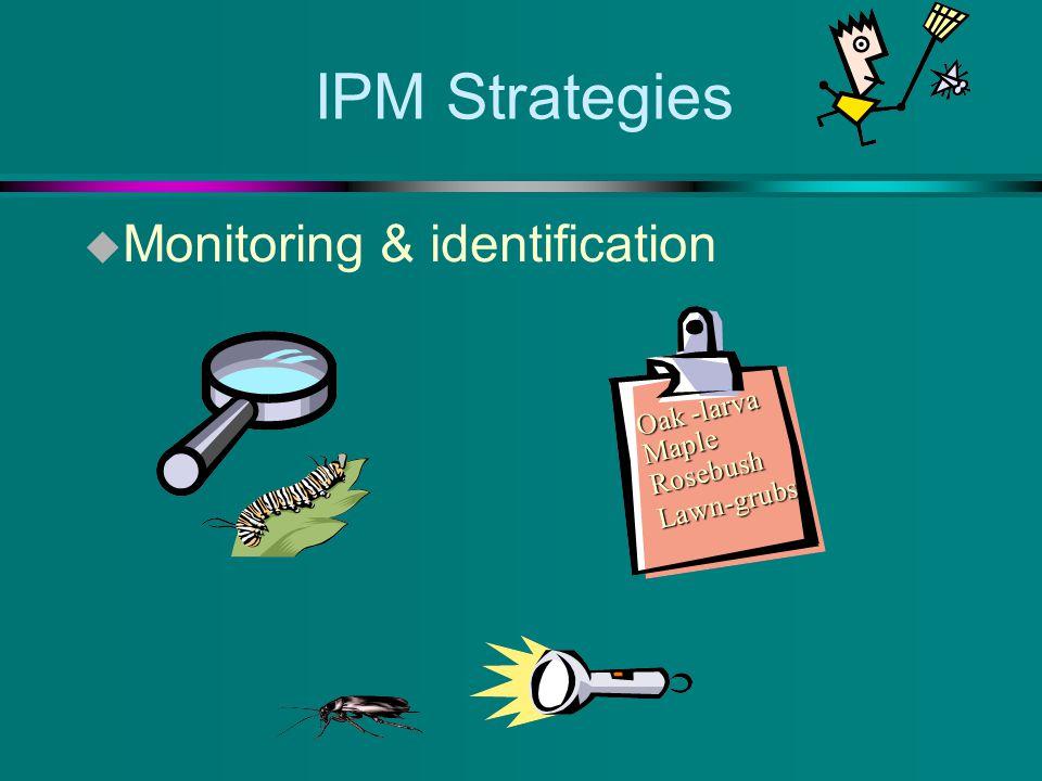 IPM u Physical controls u Habitat modification u Exclusion u caulking, sealing u putting up screens u air doors