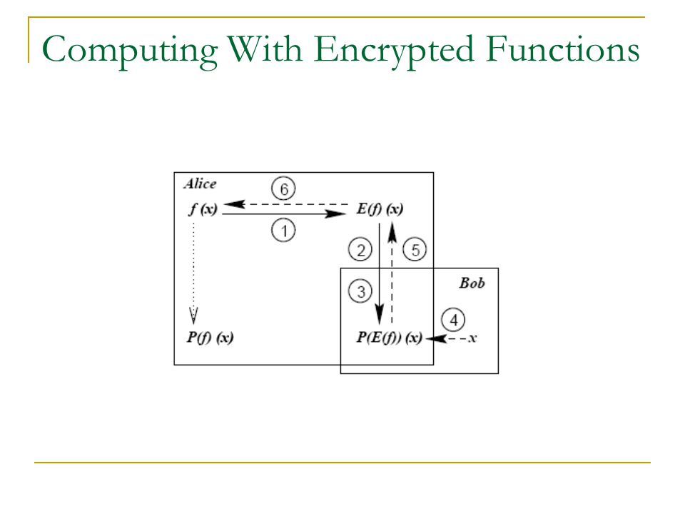 Computing With Encrypted Functions