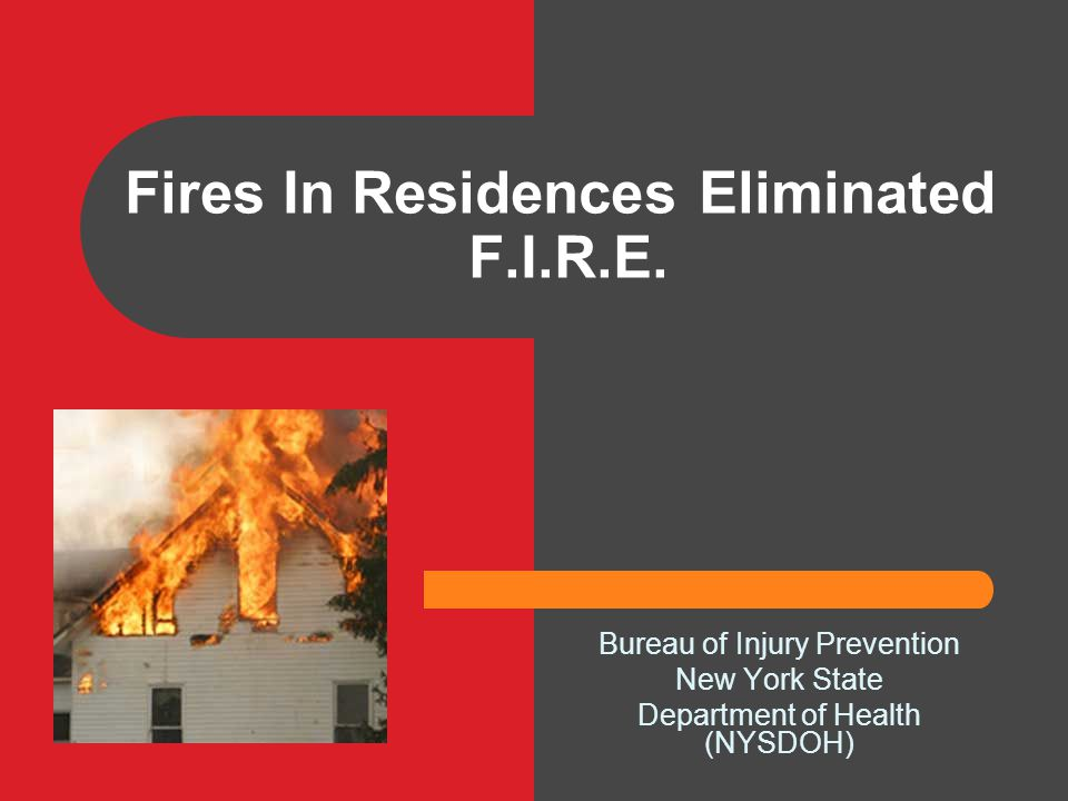Fires In Residences Eliminated F.I.R.E.