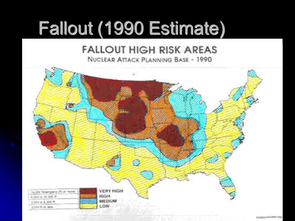 Fallout (1990 Estimate)