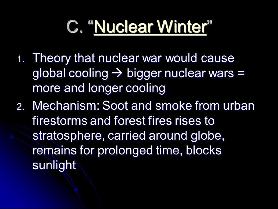 C. Nuclear Winter Nuclear WinterNuclear Winter 1.