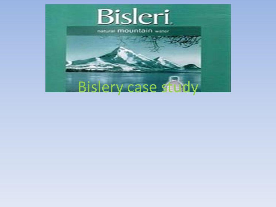 Bislery case study