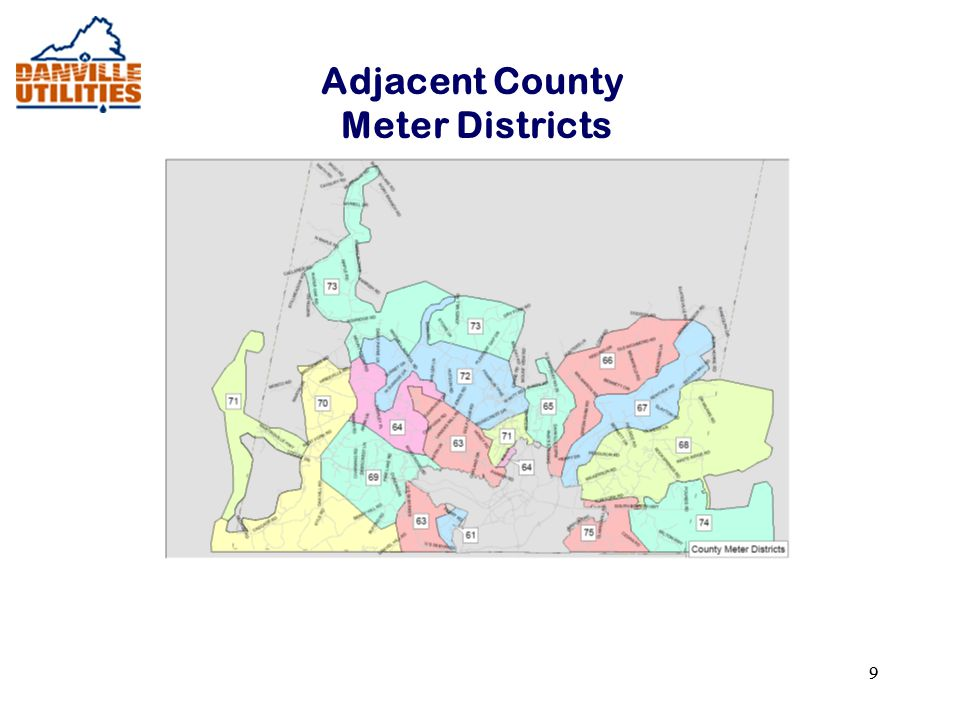 99 Adjacent County Meter Districts