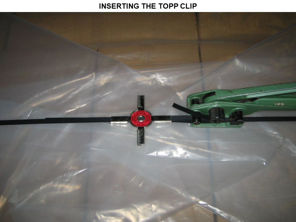 INSERTING THE TOPP CLIP