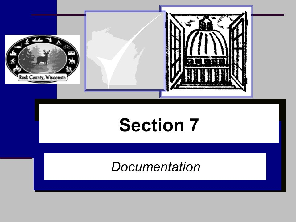 Section 1 Section 7 Documentation