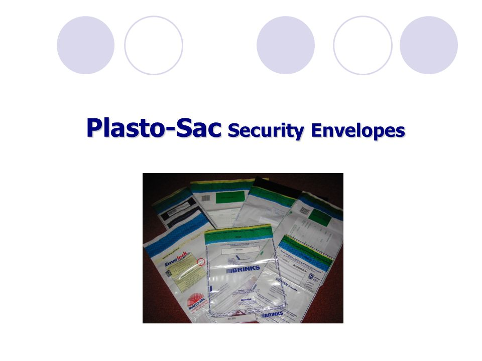 Plasto-Sac Security Envelopes