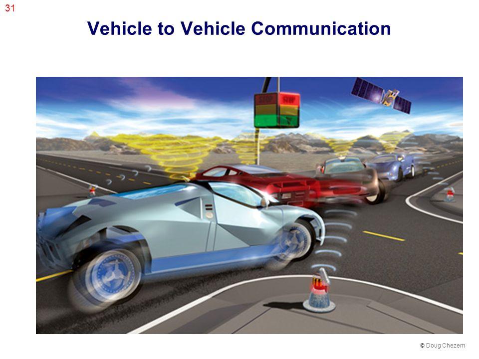 31 Vehicle to Vehicle Communication © Doug Chezem