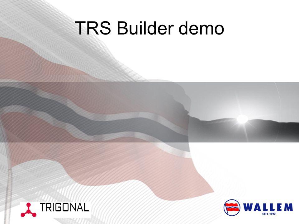 TRS Builder demo