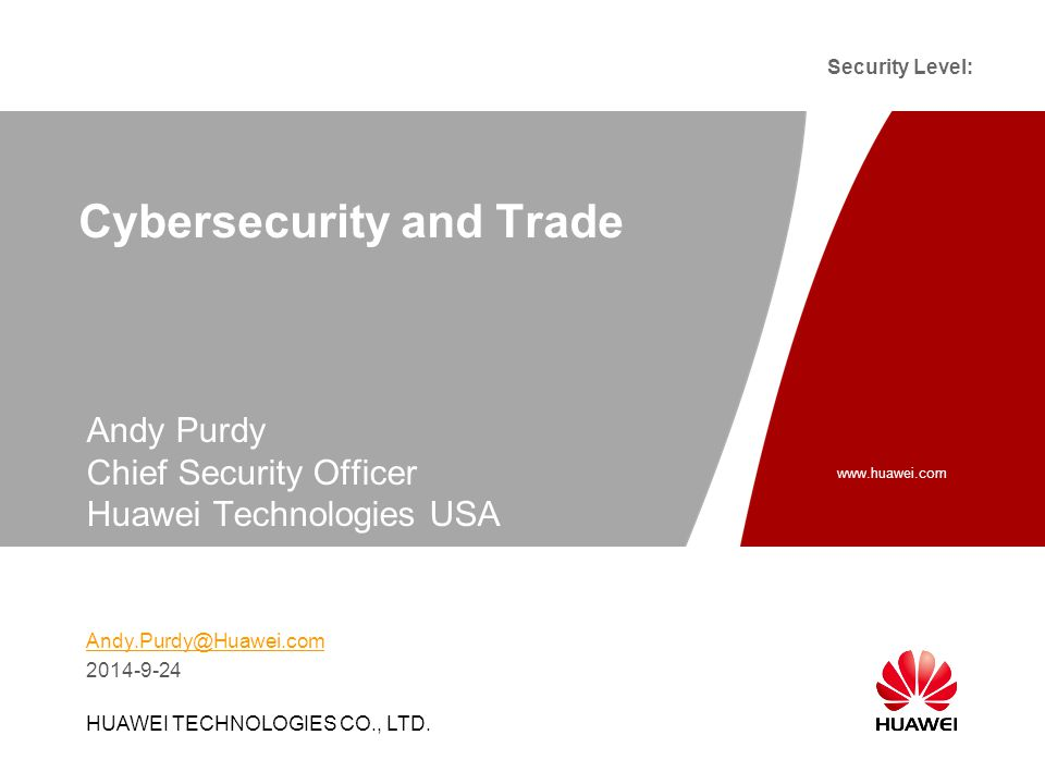 www.huawei.com Security Level: Slide title :40-47pt Slide subtitle :26-30pt Color::white Corporate Font : FrutigerNext LT Medium Font to be used by customers and partners : Arial HUAWEI TECHNOLOGIES CO., LTD.