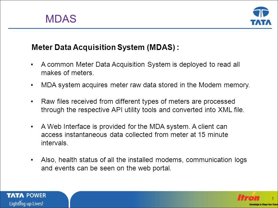 …Message Box ( Arial, Font size 18 Bold) 1 MDAS- Web Portal