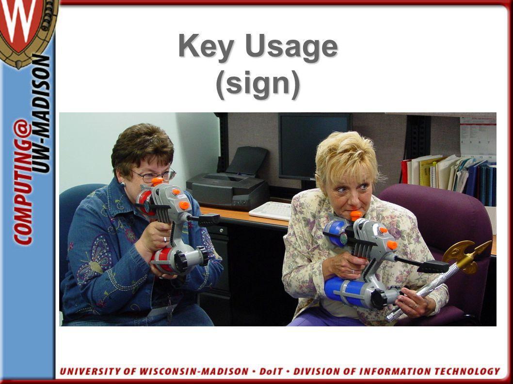 Key Usage (sign)