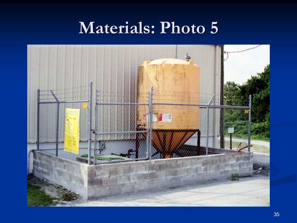 35 Materials: Photo 5