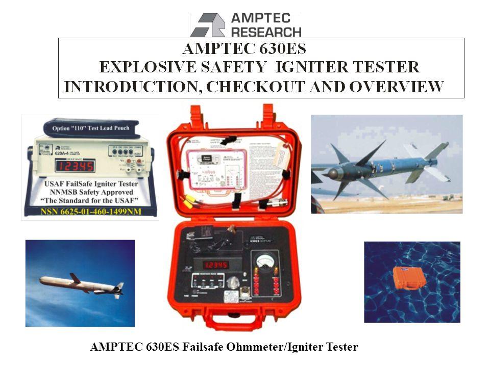 AMPTEC 630ES Failsafe Ohmmeter/Igniter Tester