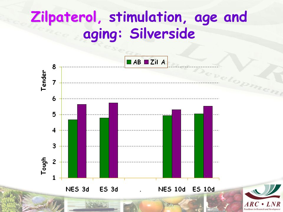 Zilpaterol Zilpaterol, stimulation, age and aging: Silverside