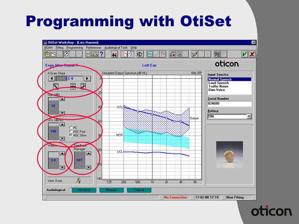 Programming with OtiSet