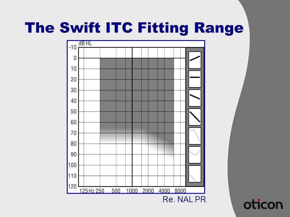 The Swift ITC Fitting Range Re. NAL PR