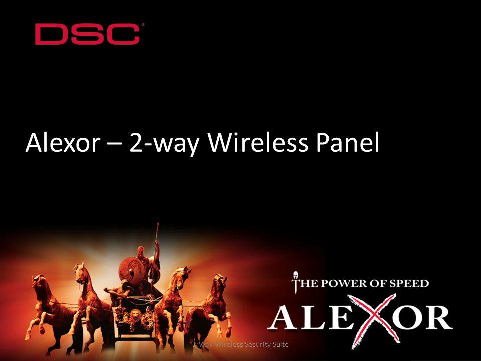 2-Way Wireless Security Suite Alexor – 2-way Wireless Panel