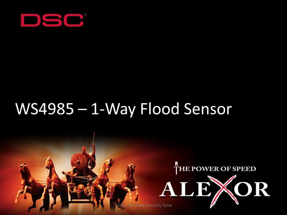 2-Way Wireless Security Suite WS4985 – 1-Way Flood Sensor