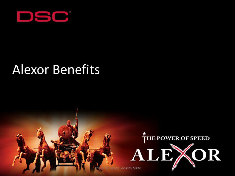 2-Way Wireless Security Suite Alexor Benefits
