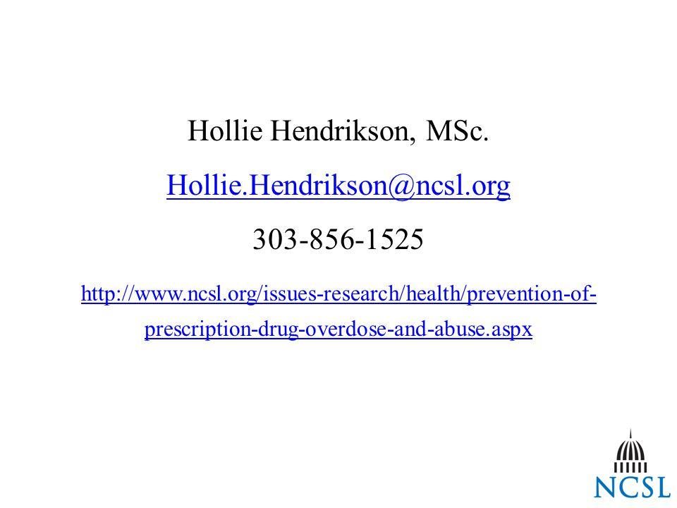 Hollie Hendrikson, MSc.