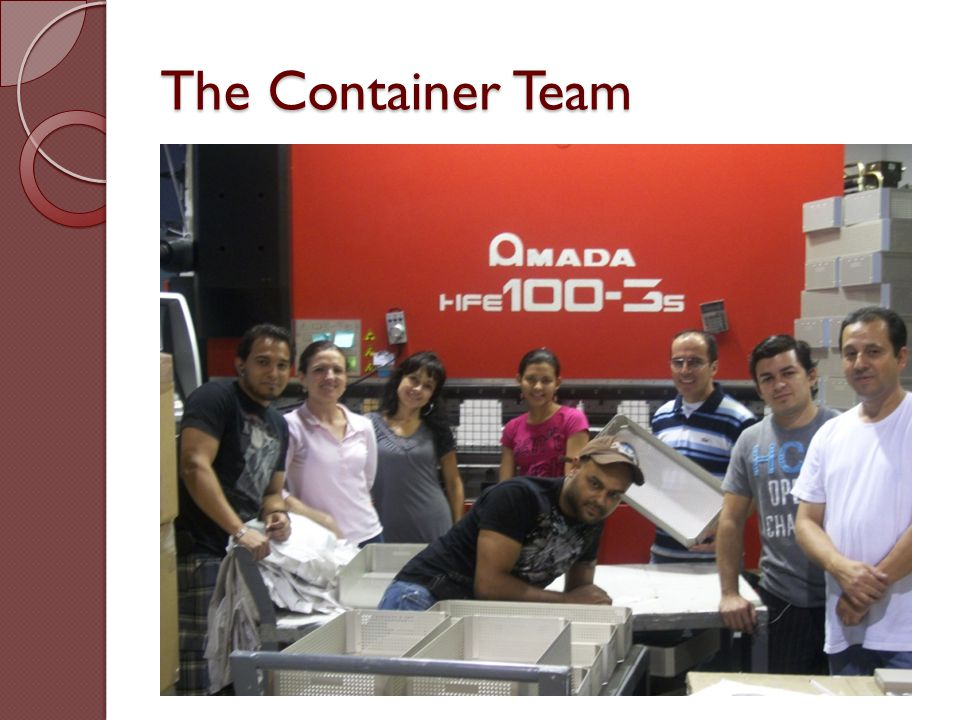 The Container Team
