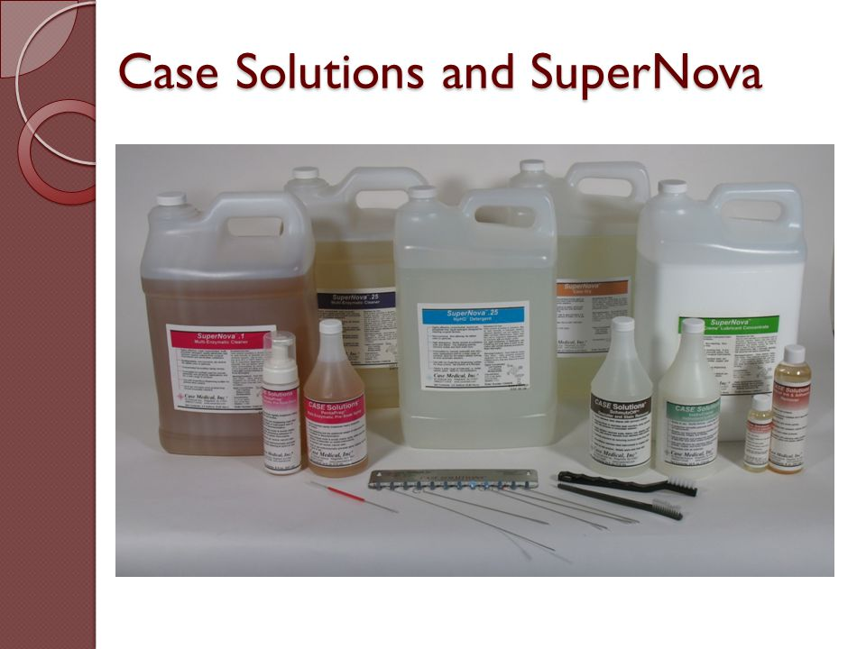 Case Solutions and SuperNova