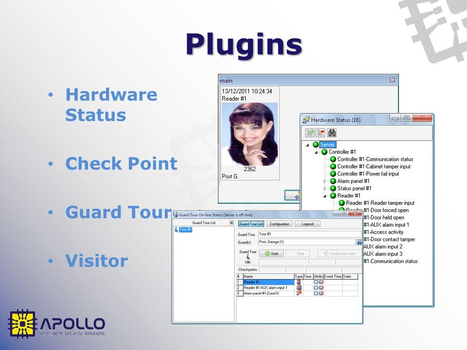 Plugins Hardware Status Check Point Guard Tour Visitor