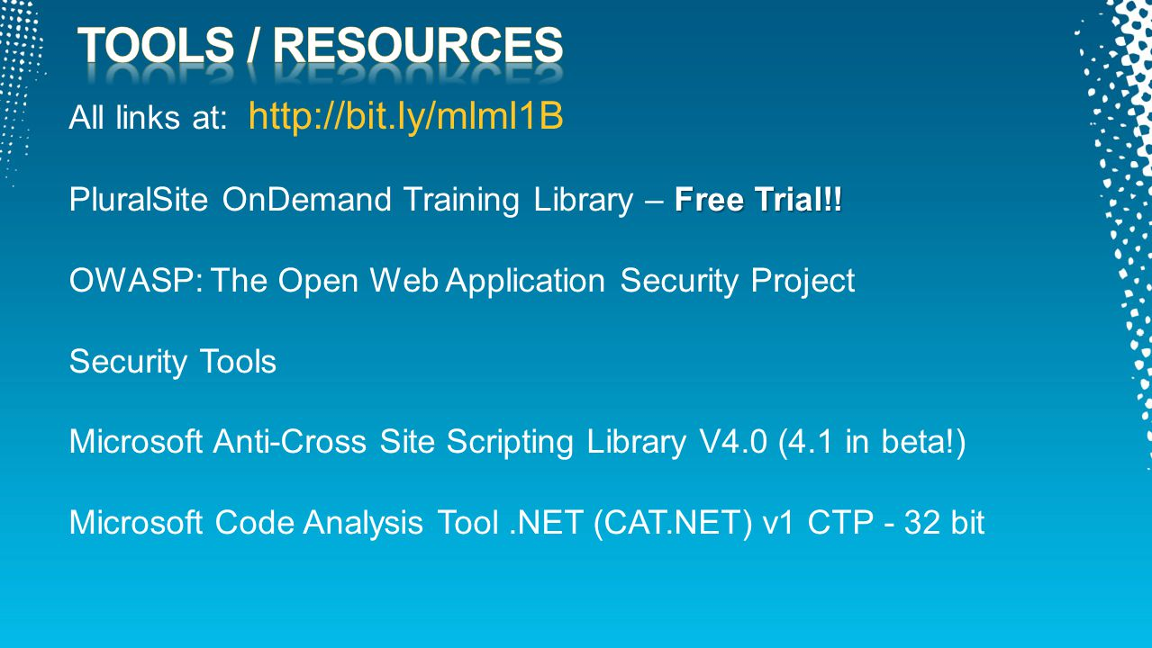 All links at: http://bit.ly/mlml1B Free Trial!. PluralSite OnDemand Training Library – Free Trial!.
