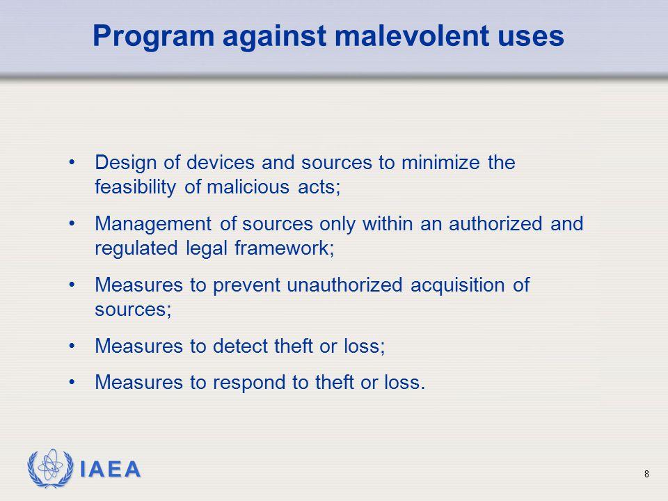 IAEA 9 Part I:Security Grouping