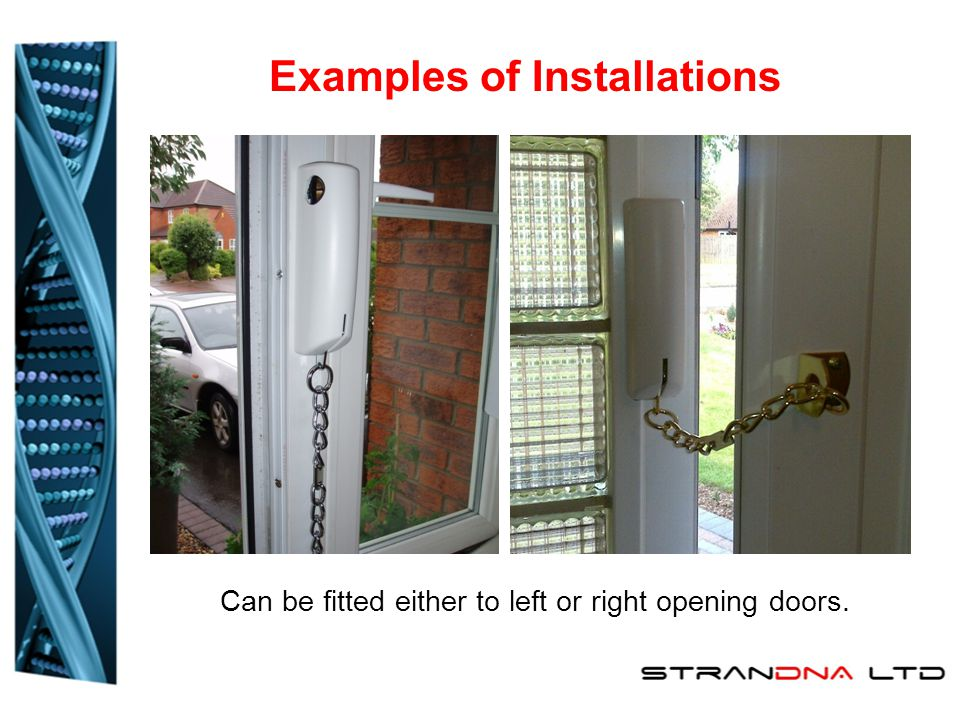 4.Install the screws supplied in the top 4 holes only.