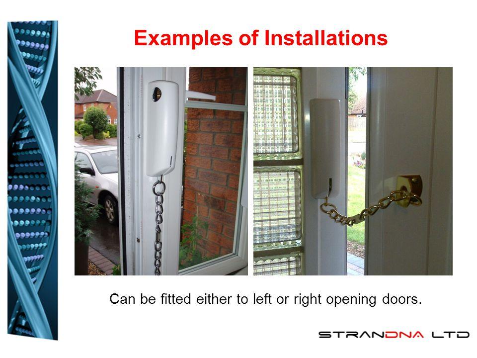 Installations Composite Doors Wood UPVC