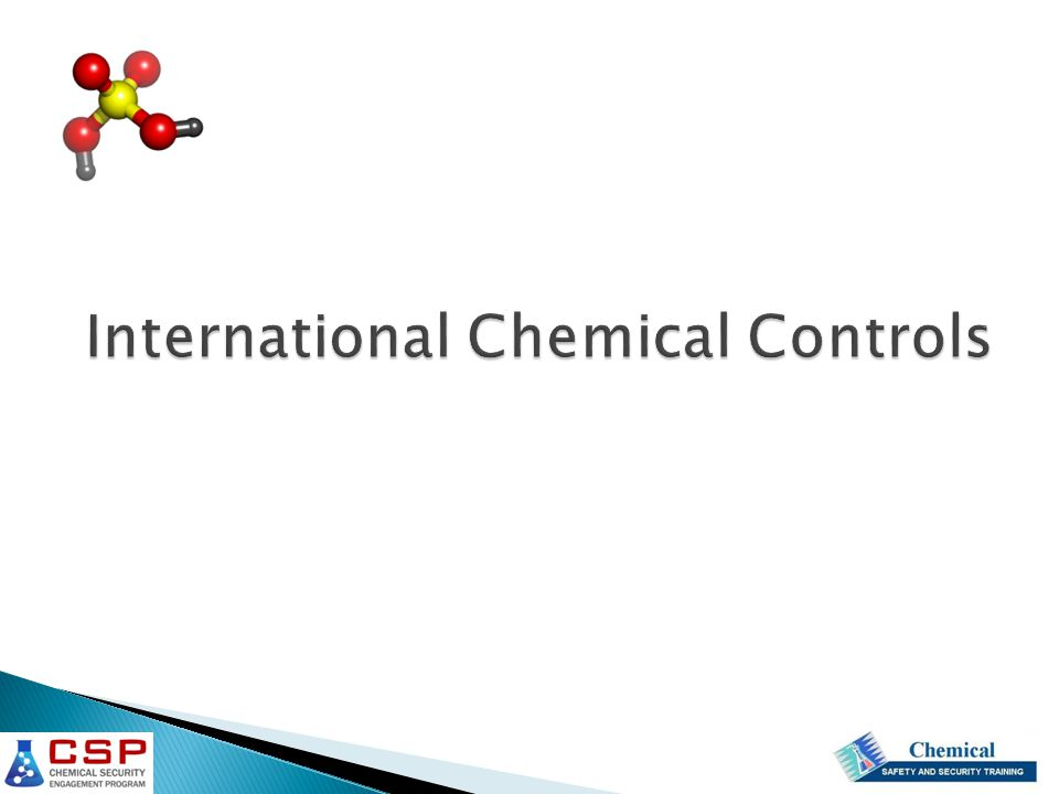 International Chemical Controls