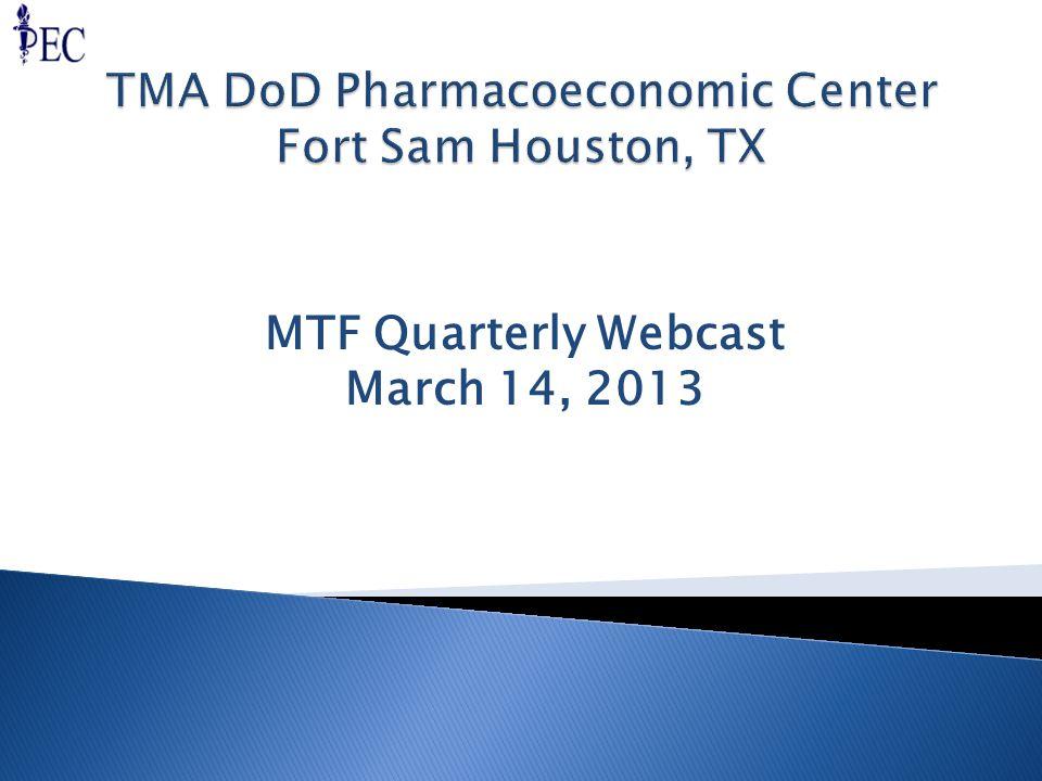 MTF Quarterly Webcast March 14, 2013
