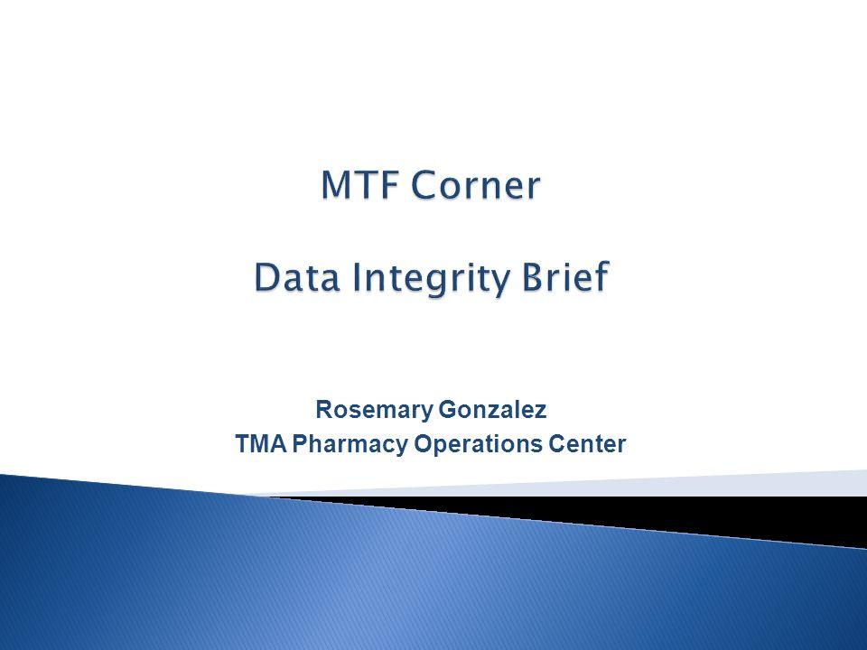 Rosemary Gonzalez TMA Pharmacy Operations Center