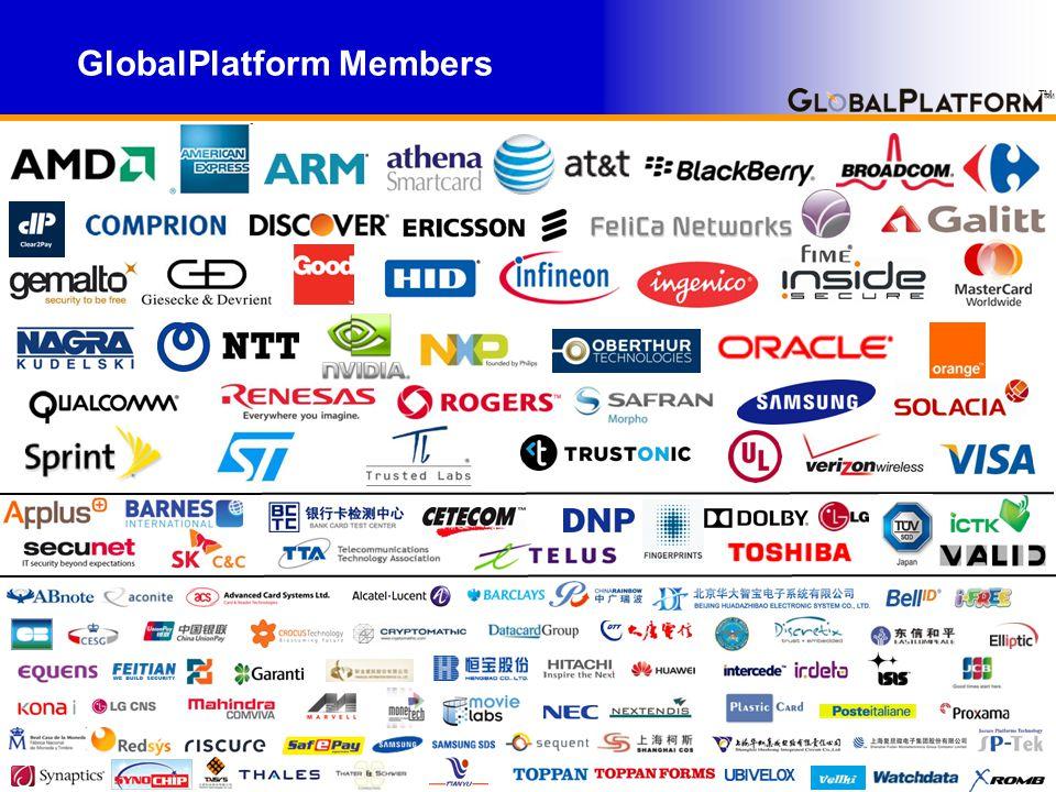 TM GlobalPlatform Members TM