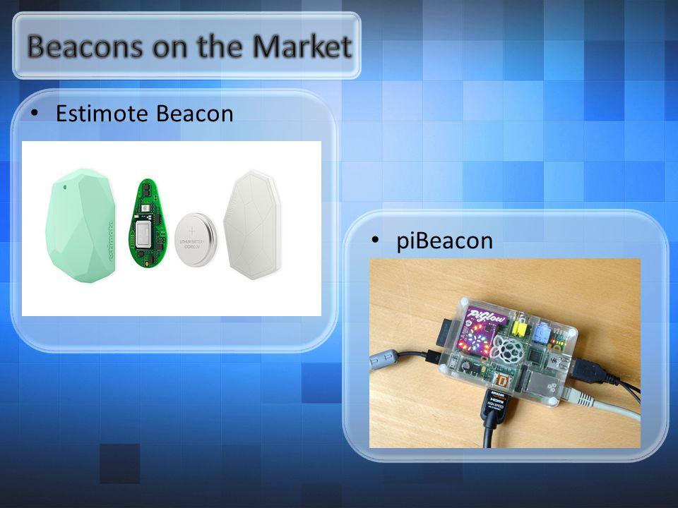 Estimote Beacon piBeacon