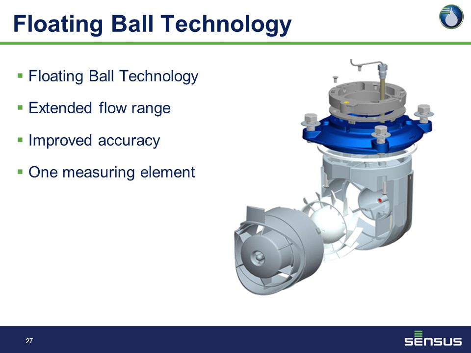 "26 Floating Ball Technology  Characteristics of 2"" R2 Omni  Operating temperature range of 33°F (.56°C) – 150°F (65.6°C).  Operating Range 100% ± 1"