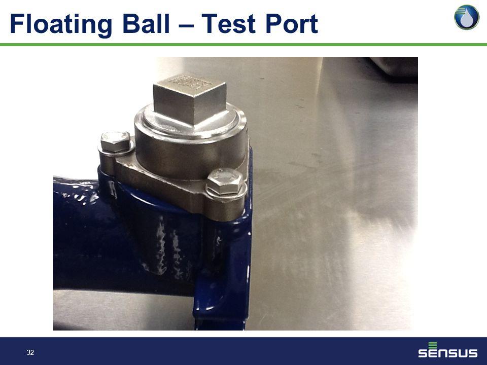 31 Floating Ball – Register - Test