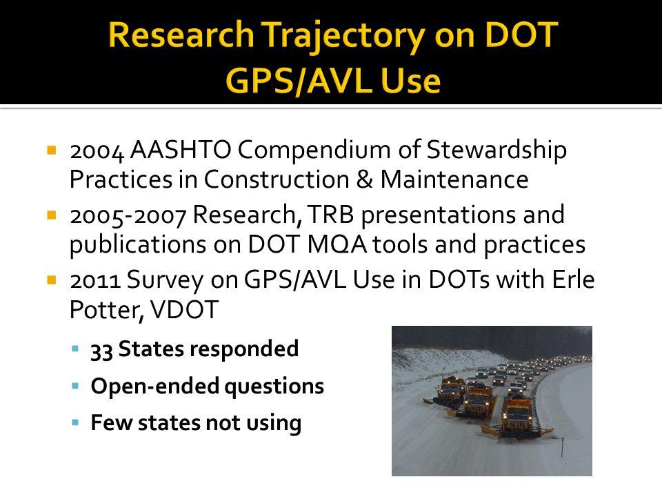  IWAPI Weather Mgmt Data Collection - CO,WY, VA, ID (4)  InterFleet - OH, MO, KY,(3)  Location Technologies - IA, WA (2)  Force/Precise - WA, WY (2)  AmeriTrak's AT500, AT300 - NY, MN (2)  Network Fleet - VA, NM (2)