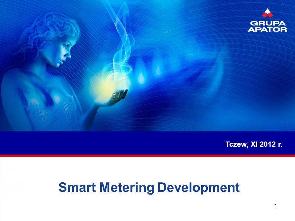 Smart Metering Development Tczew, XI 2012 r. 1