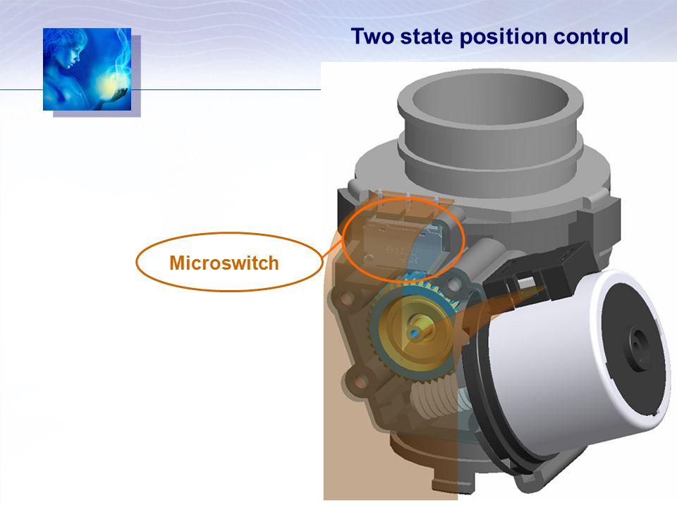 Two state position control Microswitch