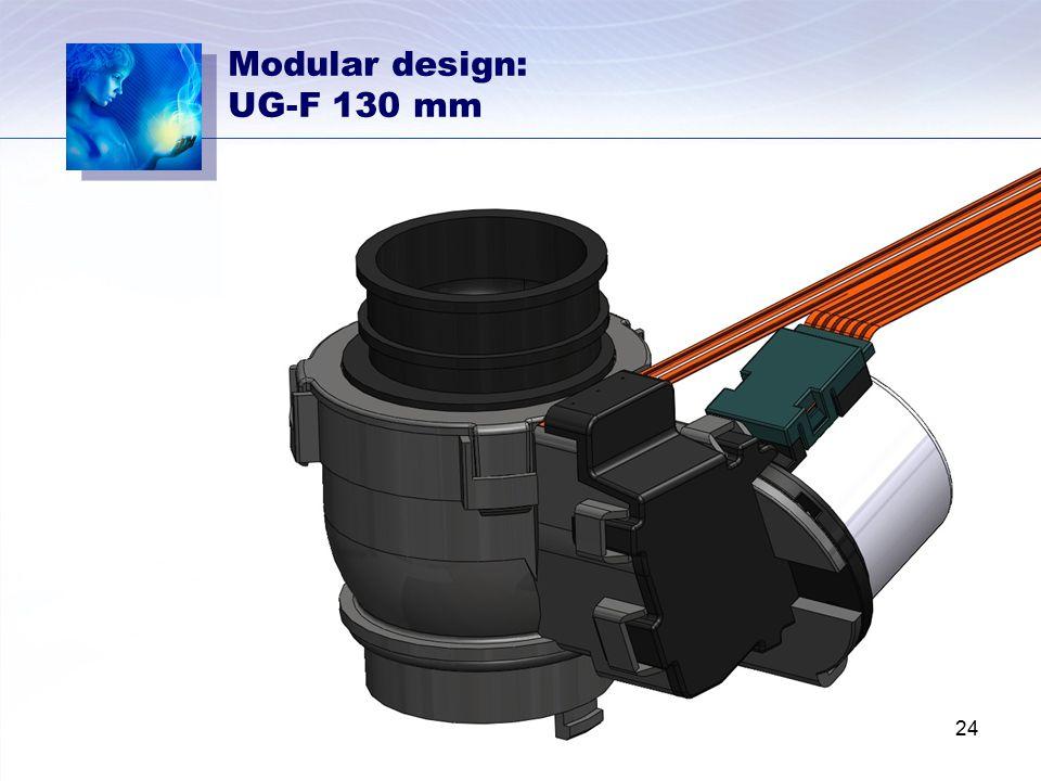 Modular design: UG-F 130 mm 24