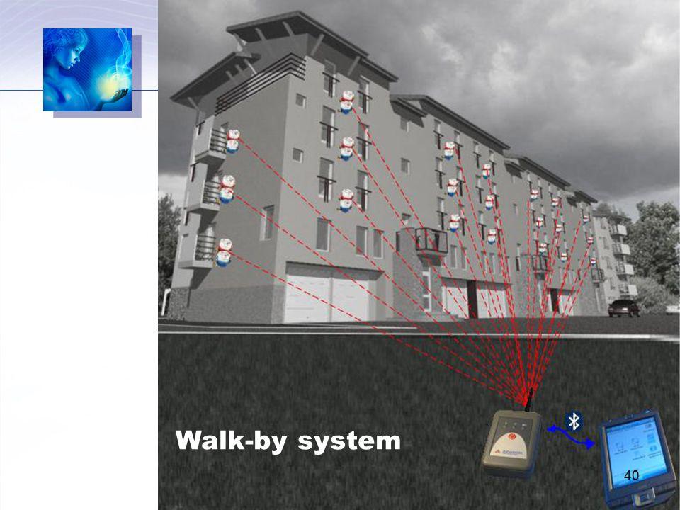 Walk-by system 40