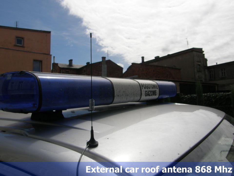 53 External car roof antena 868 Mhz
