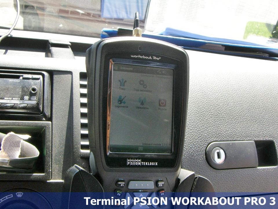 54 Terminal PSION WORKABOUT PRO 3