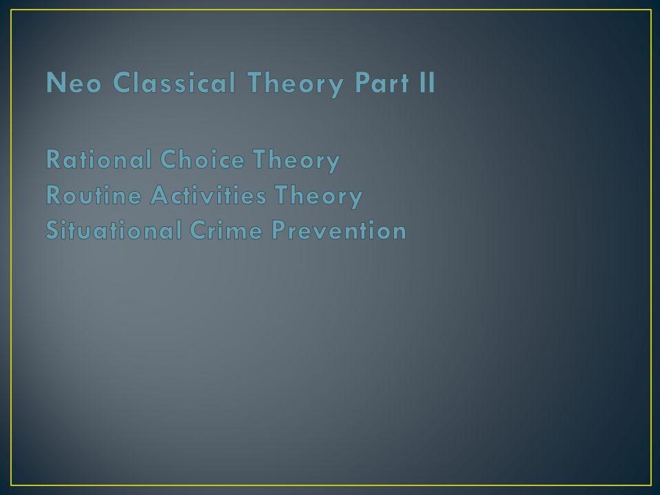 Formal punishment Swift, Certain, Severe Types Specific vs.
