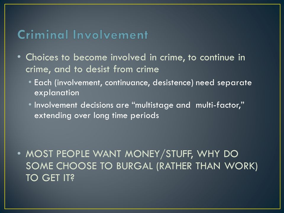 Empirical Support WHY DOES PROPERTY CRIME INCREASE DURING ECONOMIC PROSPERTIY.
