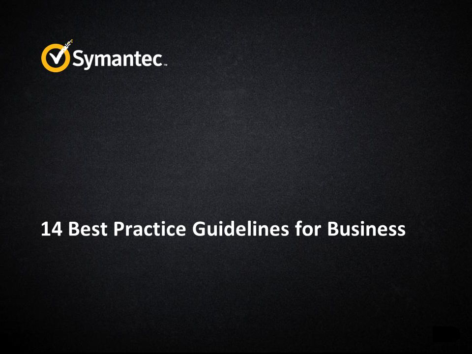 14 Best Practice Guidelines for Business
