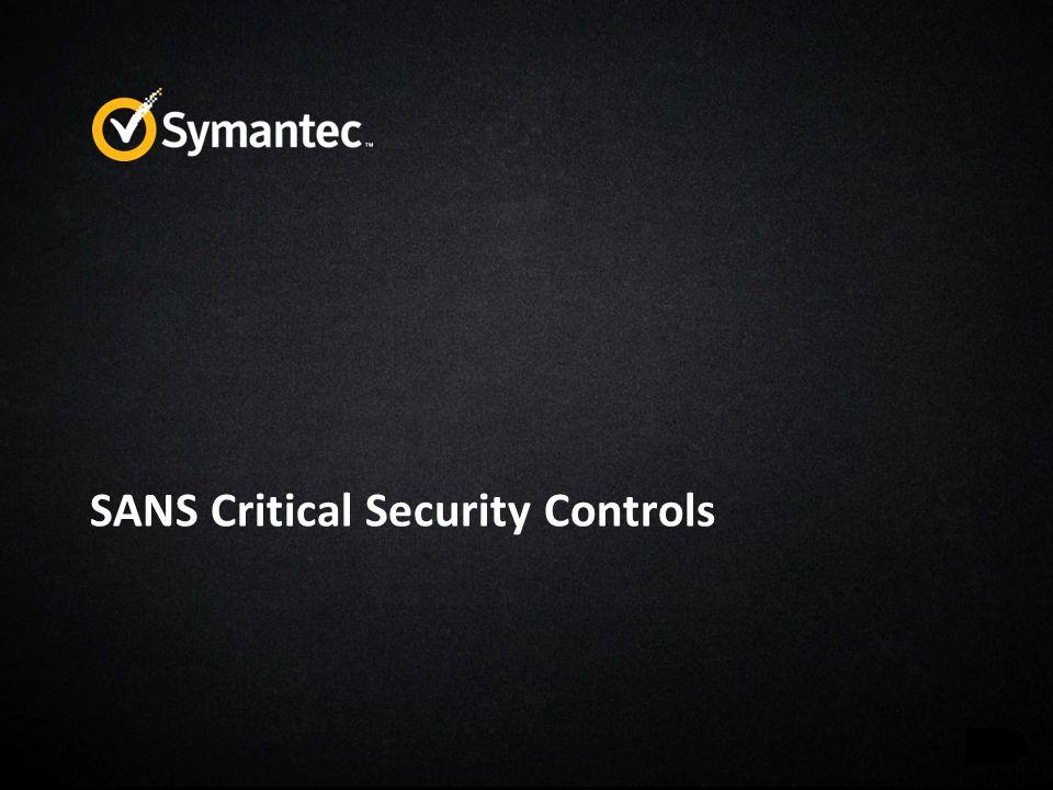 SANS Critical Security Controls